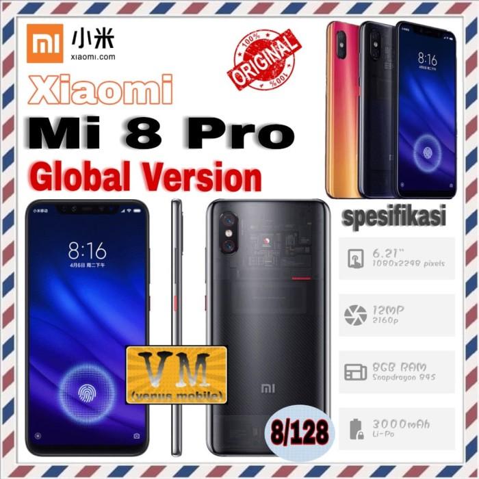Xiaomi Mi8 Pro Explorer 8/128 GB - RAM 8GB MEMORY 128GB - Mi 8 Pro - TRANSPARENT