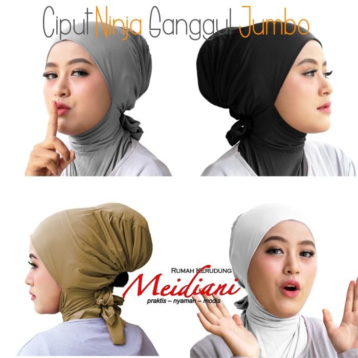 Foto Produk Ciput Ninja Sanggul Jumbo dari Jilbab Meidiani