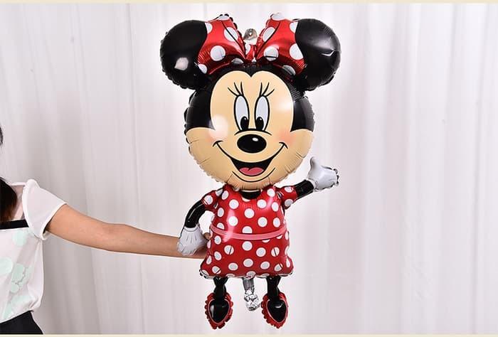 balon foil minnie mouse jumbo / balon minnie mouse jumbo / balon foil