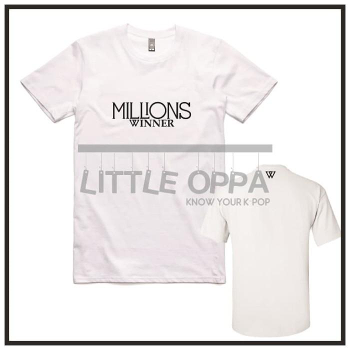 Jual KAOS T-SHIRT KPOP WINNER MILLIONS - DKI Jakarta - Little Oppa |  Tokopedia