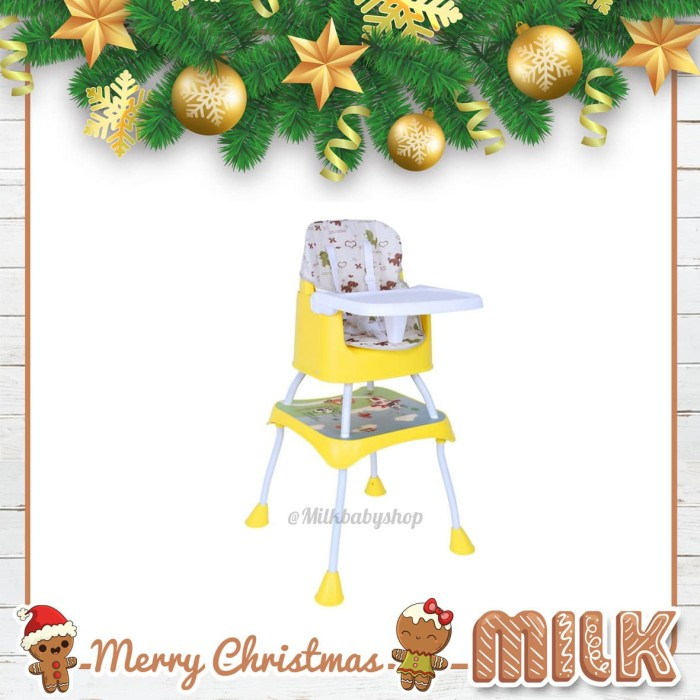 baby safe separable chair & booster seat