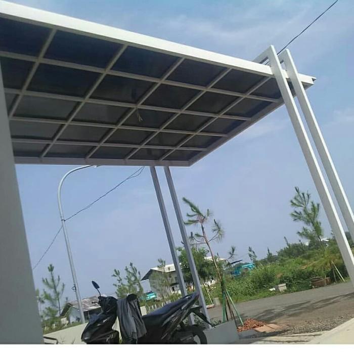 Jual Kanopi Minimalis Desain Modern Dan Terpercaya Kab Bandung Abdijayastell Tokopedia