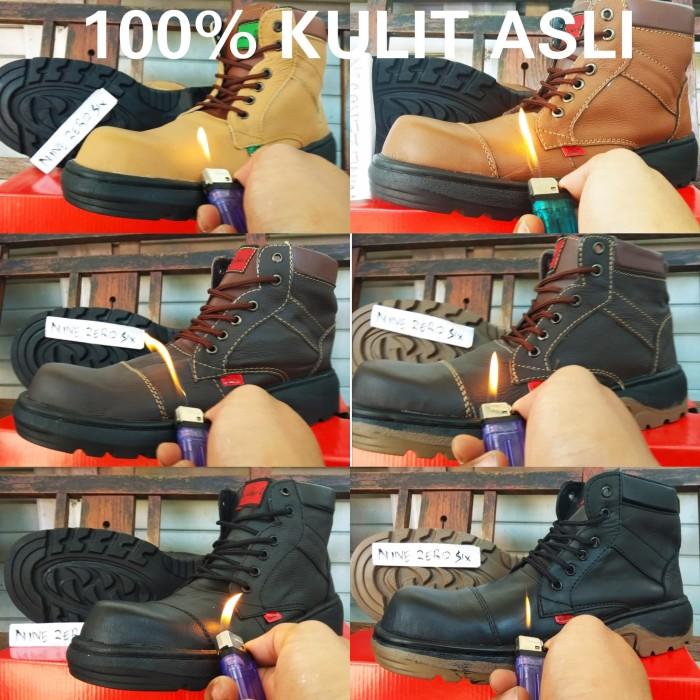 Jual Sepatu kulit sapi asli safety boots kickers predator x zoom ... d64de0355a