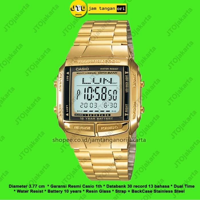 ... Stainless Steel Source · Jam Tangan Wanita Casio Original Arloji Cewek Digital Watch DB 360G 9A