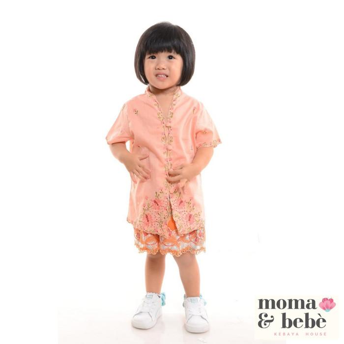 Foto Produk [Moma.Bebe.KebayaHouse] Atasan Kebaya Encim Anak #1-4 : corak Chrysan dari Moma & Bebe House