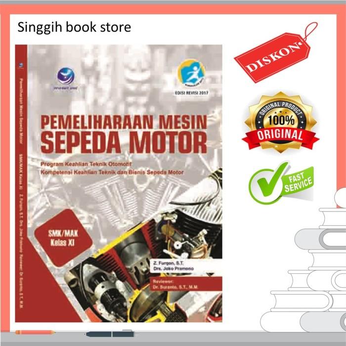 Jual Pemeliharaan Mesin Sepeda Motor Kelas Xi Kota Yogyakarta Singgihbookstore Tokopedia
