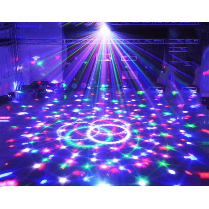 Crystal Magic Ball Disco LED 20W