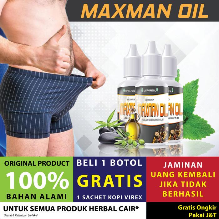 Obat Pembesar alat vital pria-obat kelamin - Mxman Oil