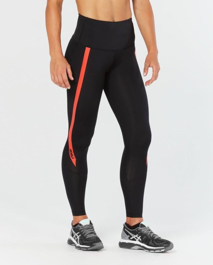 harga 2xu women's hi-rise compression tights [wa4614b blk/cht] - maroon m Tokopedia.com