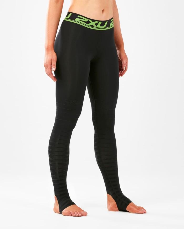 harga 2xu women's power recovery compression tights-size m [wa4418b blk/nro] - hitam m Tokopedia.com
