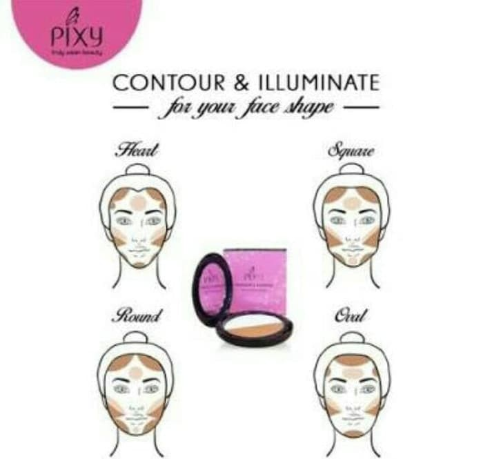 Pixy Highlight & Shading Perfecting Face Shape - 10gr