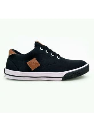 Jual Calvien Sepatu Kets Sneakers Pria   Sepatu Kasual Pria - Biru ... dab9238374