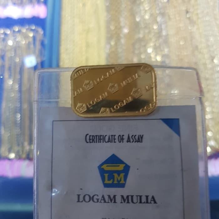 Jual Promo Emas Logam Mulia Antam 25gram Emas Batangan 99999