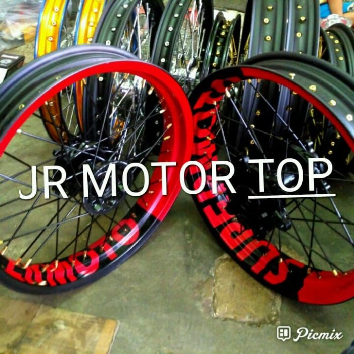 Jual Velg Supermoto Honda Crf 150 L Jr Motor Top Tokopedia
