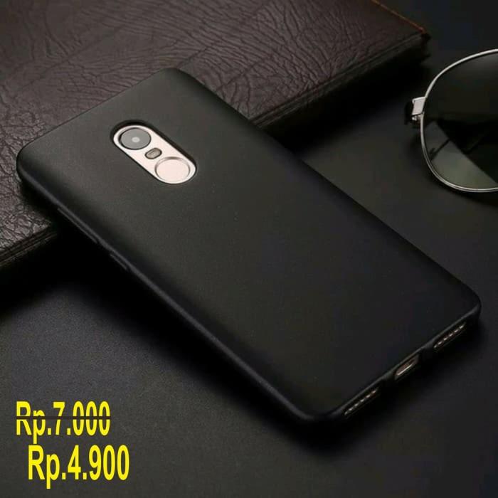 Slim Black Matte Case Xiaomi Redmi 5 Plus Softcase Silicone Redmi 5