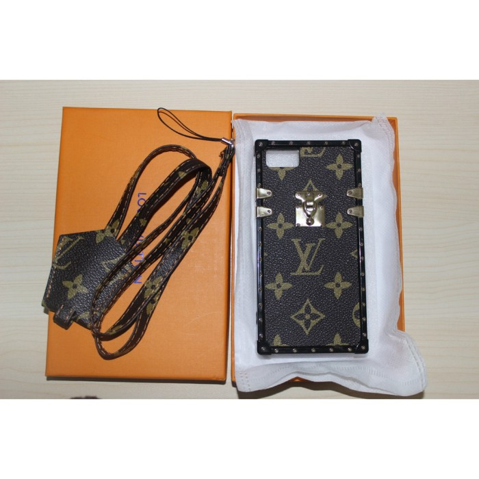 49cb9bdd Jual iPhone X Ten 10 Case LV Louis Vuitton Petite Malle Eye Trunk Leather -  Kab. Tangerang - Rumah Fashion Shop 09 | Tokopedia
