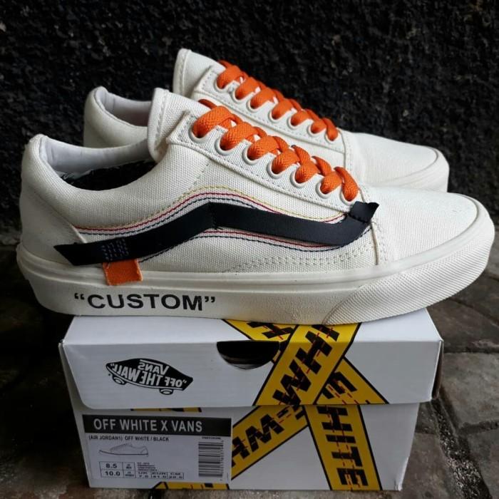 Jual Sepatu Vans Old Skool Custom Off