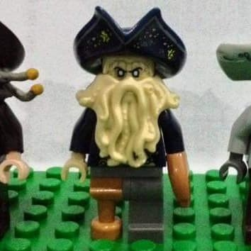 Jual Davy Jones Minifigure Lego Pirates Of Carribean Original Dki