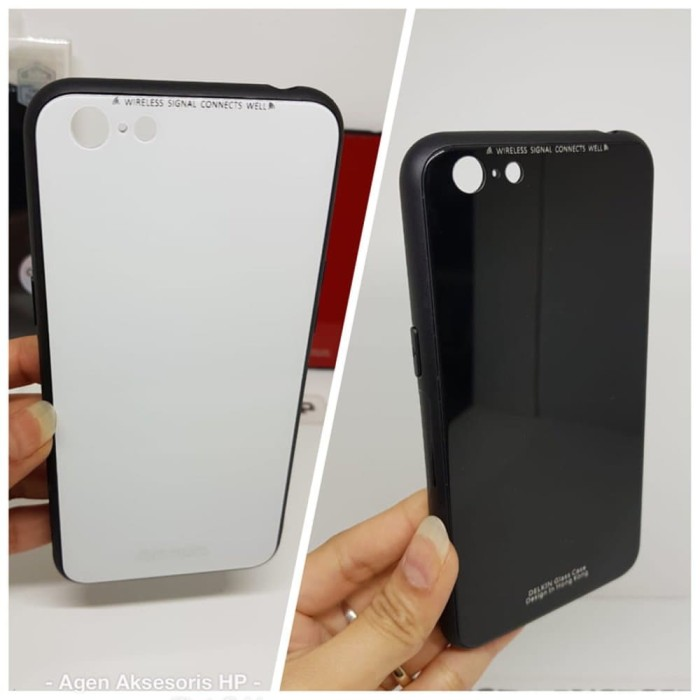 timeless design e31ba c00d0 Jual DELKIN Glass Case OPPO A71 2018 Bumper Tempered Glass 9H ANTI KOTOR -  Kab. Bangli - Vinika Store | Tokopedia