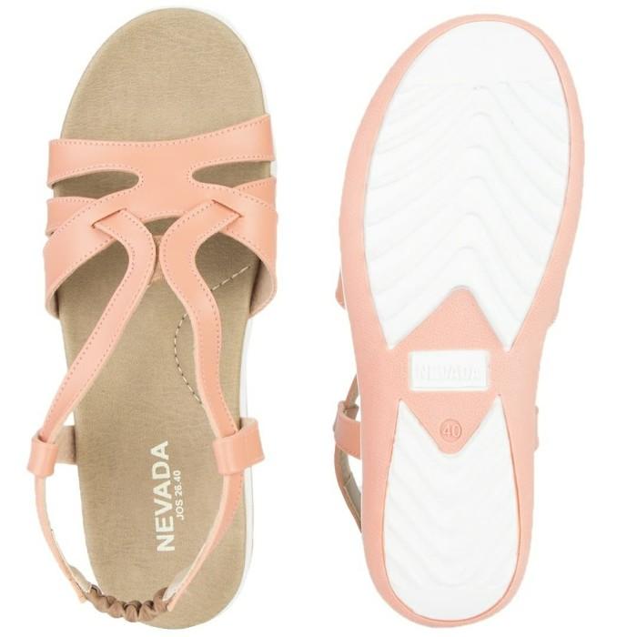 Sandal flat wanita nevada pink salem jos26pk. Fashion   Sepatu dan ... 6ca39d9f6b