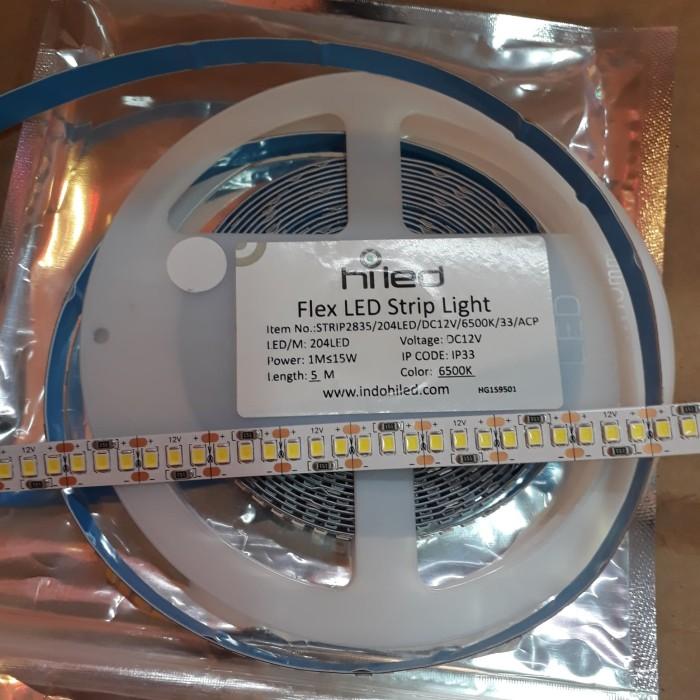 harga Hiled strip led 33-2835-204led meter 6500k-putih Tokopedia.com
