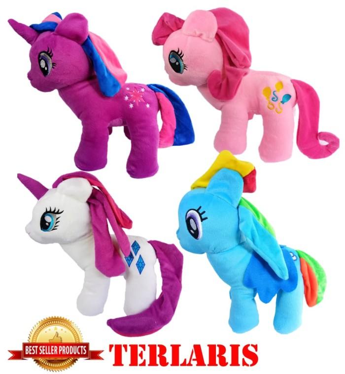 Jual Terlaris Boneka Kuda Poni Boneka Unicorn Boneka My Little Poni Ungu Kota Medan Pelanggan Setia Tokopedia