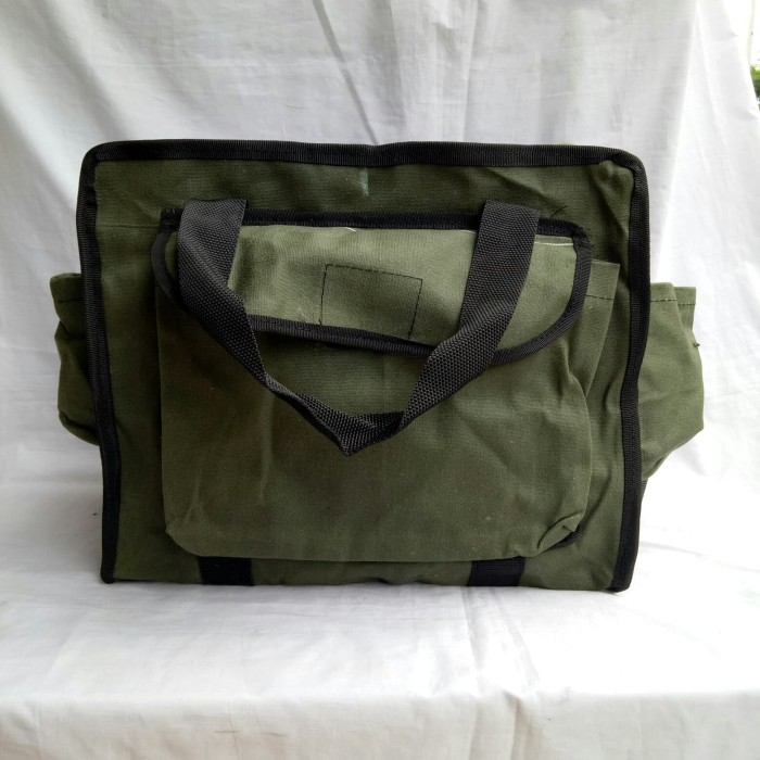 harga Toolbag - tas alat - tas teknisi - tas alat tukang - hijau Tokopedia.com