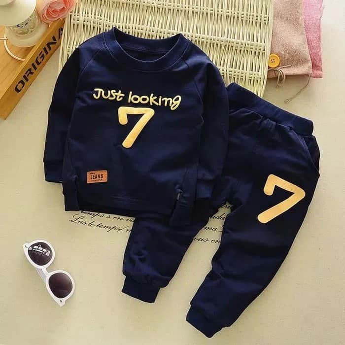 Foto Produk Setelan Baju Anak Laki-laki Sport Import - 1 - 5 Tahun dari Zarsyashop