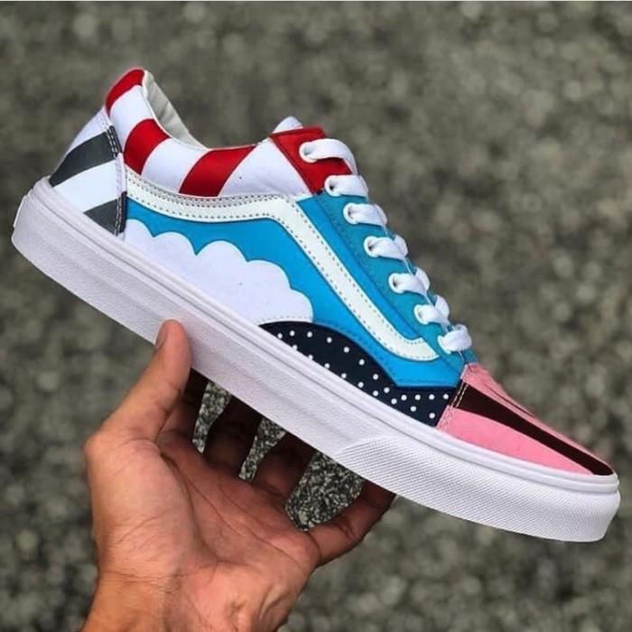 Jual Piet Parra x Vans Old Skool Custom Premium Original sneakers Jakarta Barat Euphorie Shop | Tokopedia