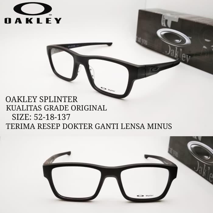 Jual Termurah Kacamata Oakley Splinter free lensa minus c08c14430d