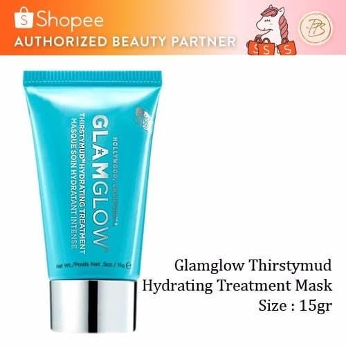Glamglow Thirstymud Hydrating Treatment Mask 15gr Tube Masker wajah