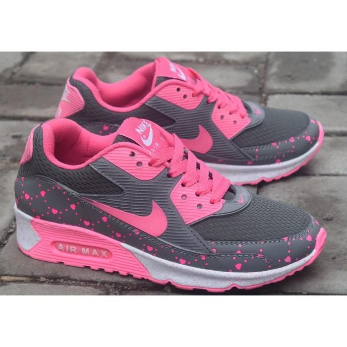 Jual Sepatu sport nike airmax women T90 motiv love   Sepatu olahraga ... da97c4aaef