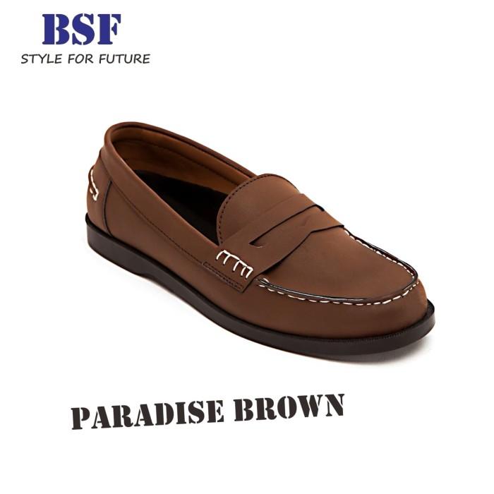 ee78425b405 Jual Paradise Brown - Sepatu Slip On Loafers Pria l Footstep ...