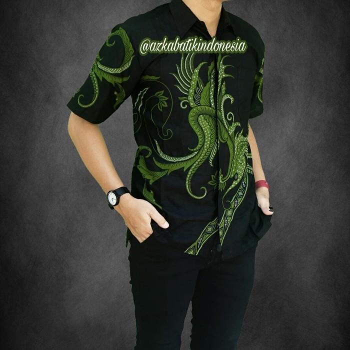 Jual Jual Kemeja Batik Pria Modern Batik Kombinasi Batik Murah Warna Kuning Hijau L Kota Yogyakarta Toserbapemalang Tokopedia