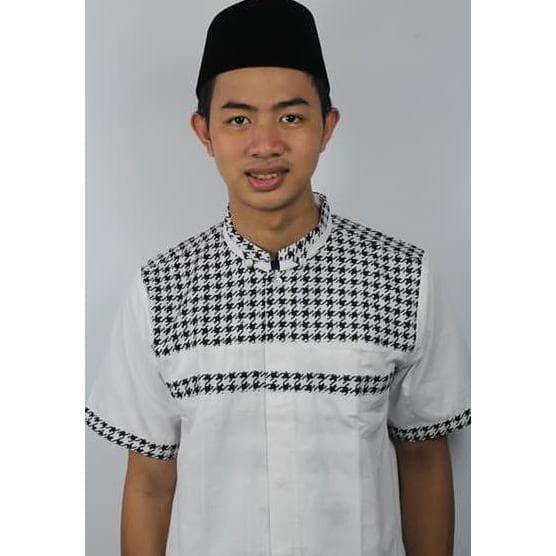 New Produk Baju Koko Pria Casual Tanpa Bordir Busana Muslim Pria Adypd