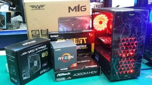 Jual Sandy Komputer Shop CPU PC ryzen 5 1600 gaming - editing video - Sandy  Komputer Shop | Tokopedia
