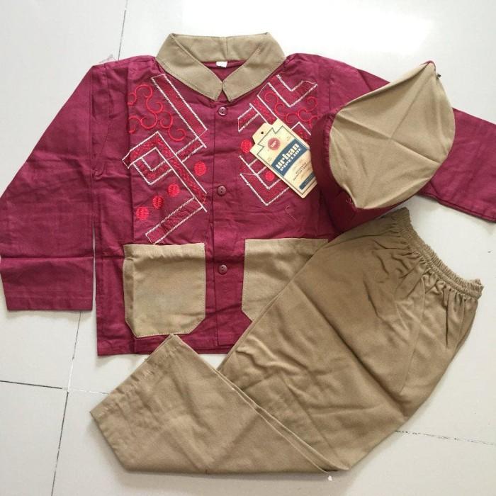 Paling Murah Baju Koko Bayi / Baju Muslim Bayi / Baju Koko Anak