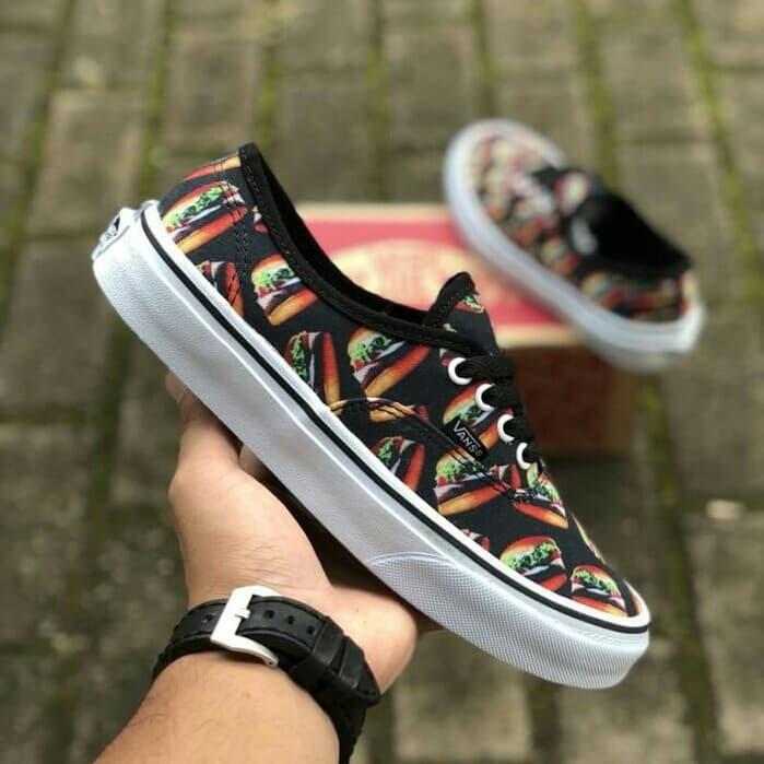 brand new 35f37 b62c5 Jual Sepatu Vans Late Night Authentic Black/Hamburg - Kota Bandung -  Rian.Shop | Tokopedia
