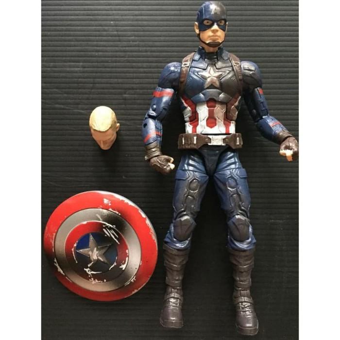harga Baru Datang. Marvel Legends Captain America Civil War Diskon Tokopedia.com