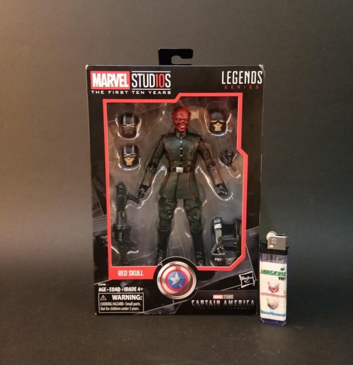 harga Marvel Legend - RED SKULL / Hydra Soldier / MCU 10th Captain America 1 Tokopedia.com