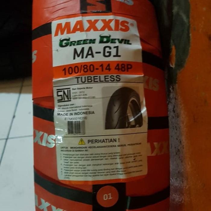 harga Maxxis ma-g1 100/80-14 Tokopedia.com