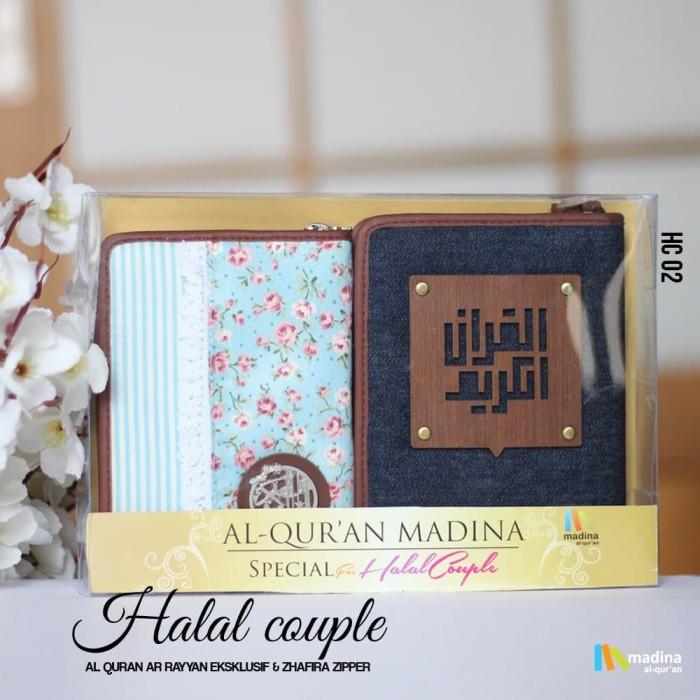 harga Al quran / alquran rainbow pelangi seserahan kado halal couple gift Tokopedia.com