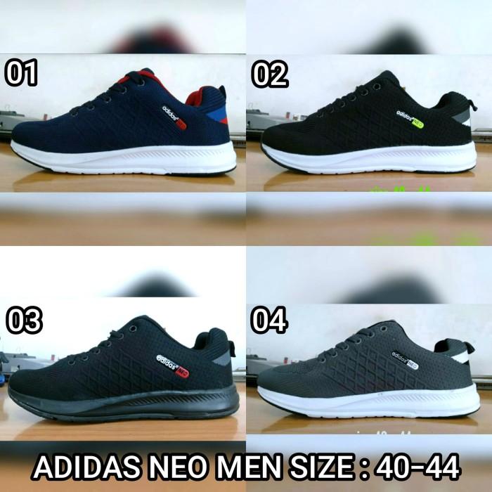 Sepatu adidas import-Sepatu olahraga adidas-Sepatu sekolah-Sepatu kets - Abu -abu Tua, 44