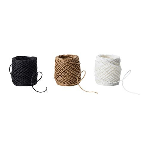 harga Pita kado ikea givande 3 rolaneka warna jute string bahan kertas Tokopedia.com