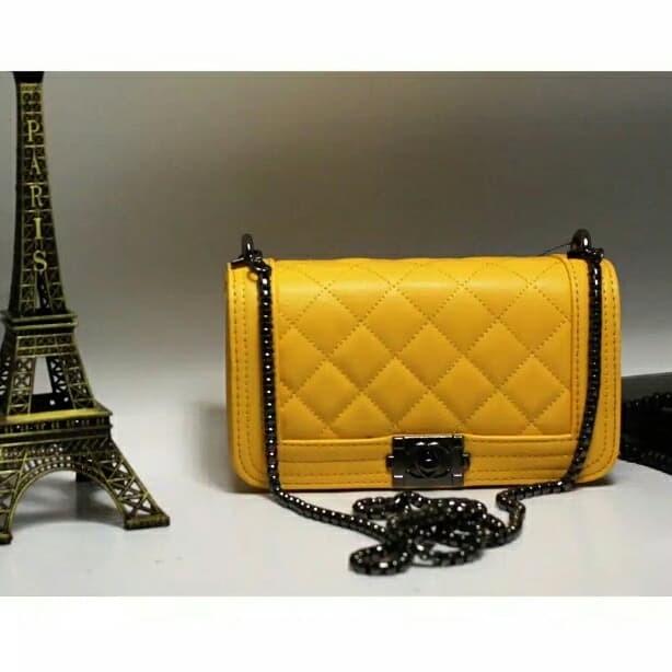 Foto Produk chnnxl boy mini/tas wanita branded import murah/handbag dari keyla ciwis shop