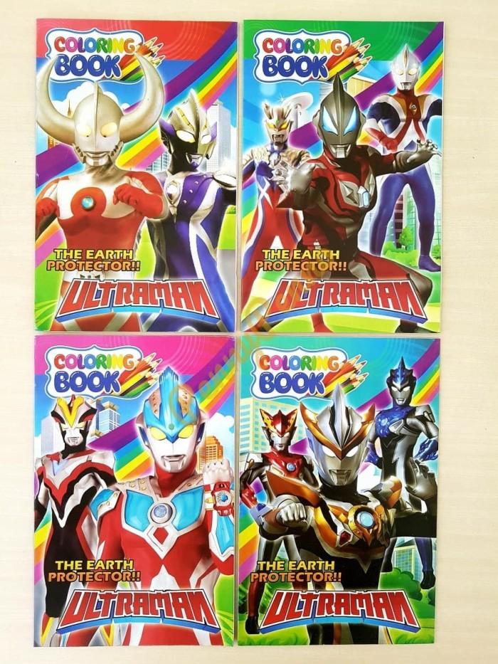 Jual Buku Mewarnai Ultraman Uk 24 Cm X15 5cm Kab Tangerang ...