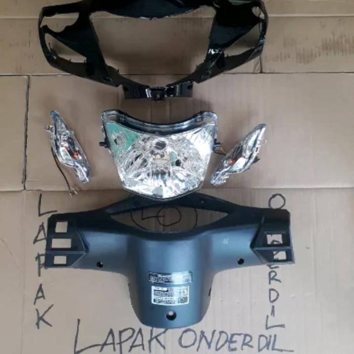 Foto Produk batok kepala depan belakang supra fit new plus sen reflektor dari ONDERDIL MOTOR PEDIA
