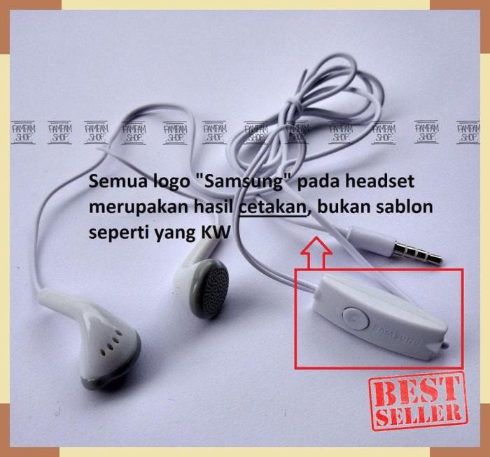 HOT / Stereo Headset Handsfree Earphone Samsung Galaxy J1, J2, J3 ,