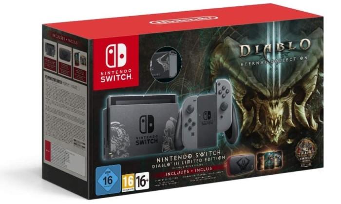harga Nintendo switch diablo iii limited edition console with diablo iii Tokopedia.com