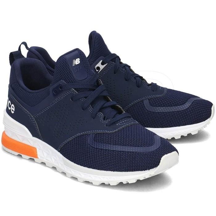 Jual New Balance Mens Sneakers MS574PCN Navy Blue - Satsuma Armory ... 8a3c16b3da
